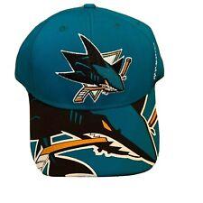 San Jose Sharks Reebok NHL Reebok Face Off Hat Cap