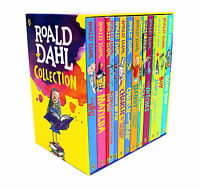 Roald Dahl 15 Books Box Set Collection New Covers, Going Solo, Matilda
