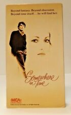 Somewhere in Time VHS (1987) MCA Home Video Christopher Reeve Jane Seymour 1980