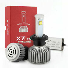 H7 80W 7200LM COB LED Headlight Kit HID Replace White 6000K High Power Bulb  AT2