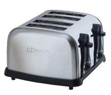 Edelstahl 4 Scheiben Toaster H.Koenig TOS14 für 4 Scheiben Toast 1700 Watt