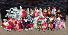 Sugar Loaf Porcelain Jester Harlequin Clown Dolls ACMI (Set of 26)