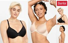 Berlei Womankind Everyday Contour Women Bra Underwire YYCR Black Nude RRP $69.95
