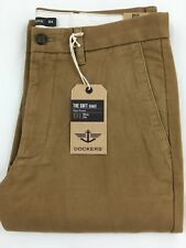 DOCKERS GENUINE  LEVI'S D1 SLIM FIT FLAT FRONT TROUSERS SOFT KHAKI CHINOS PANTS