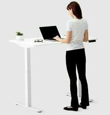 50'' Inch Electric Height Adjustable Computer Home Office Standing Desk White