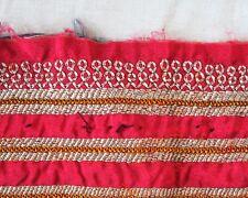 Kuchi Nomaden Stoff, Bestickter Stoff, Borte, Ethnostoff mit Stickerei, Folklore