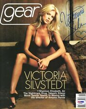 VICTORIA SILVSTEDT SIGNED AUTOGRAPHED FULL GEAR MAGAZINE VERY RARE PSA/DNA