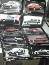 DEPLIANT GAMME ALFA ROMEO 1984 : 33 / 75 / 90 / SPRINT / GTV / SPIDER