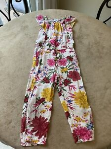 Old Navy Girls YOUTH Size XS Romper Pants Floral