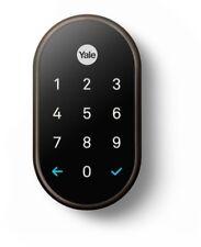Yale Smart Door Lock Keyless Deadbolt Biometric Keypad Auto-Lock Bluetooth Wi-Fi
