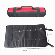 Motorcycle Tool Bag Wrench Spanner Roll-Up Storage Package Holder Pouch Luggage