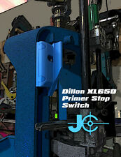 Dillon XL650 Primer Stop Switch. Stop Primer Feeding Through.