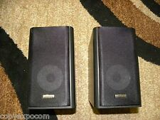 Onkyo D-035 Speakers, Black, Detachable Grill, Designed to match the CS-445