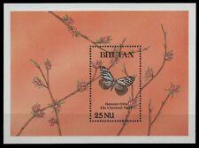 Bhutan 1990 - Mi-Nr. Block 245 ** - MNH - Schmetterlinge / Butterflies