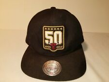 Adult Mitchell & Ness NBA 50th anniversary Chicago Bulls  Snap back Hats