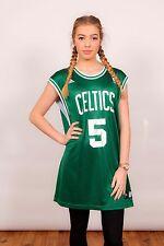 Vert & Blanc Adidas Boston Celtics Basketball Jersey #5 GARNETT Taille XL