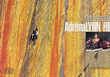 Coupure de presse Clipping 2002 Adréna Lynn Hill (6 pages)