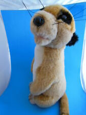"""Meerkat 14"""" Plush Tony Toy Excellent condition Rare Very Cute!"""
