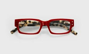 eyebobs +1.50 Peckerhead Red Tortoise Square Reading Glasses S2825