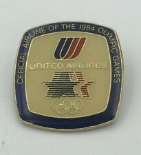 United Airlines Official Airline of the 1984 Olympic Games Pin LA