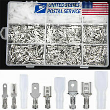 900X Assortment Terminals Set Electrical Wire Crimp Connectors Male Female Spade