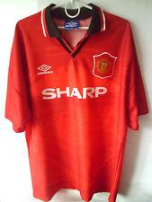 1994-96 Manchester United Home Shirt Jersey Trikot XXL 2XL