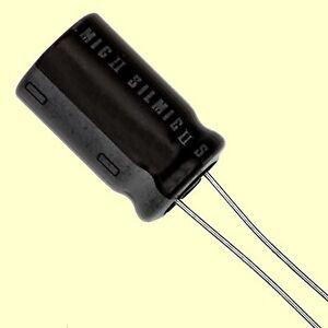 1 pc. ELNA  RFS  SILMIC II  AUDIO Kondensator 100uF 50V 12,5x20  20% 85°C RM5