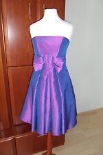 Kleid Partykleid Abendkleid Silvester Abikleid Coctailkleid in Lila, Gr. 34, NEU