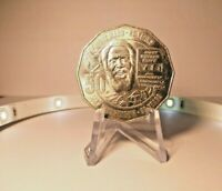 2017 50 Cent Coin UNC Mabo from a RAM Roll 2nd Lowest Mint Run Very Rare