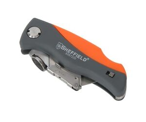 Sheffield Quick Change Folding Lock-Back Utility Knife