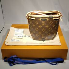 Louis Vuitton Nano Noe Drawstring Shoulder Bag Sa4189 Monogram M41346 02123