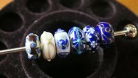 Trollbead - Blue Christmas Kit LE - Retired Glass Beads - TGLBE-00026 - 925S LAA