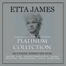 Etta James PLATINUM COLLECTION Best Of 60 Songs ESSENTIAL New Sealed 3 CD