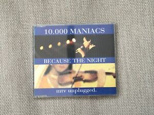 10.000 Maniacs Because The Night CD Single Rock