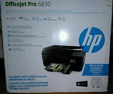 New HP OfficeJet Pro 6830 Wireless All-in-One Color Inkjet Printer FAX Scan Copy