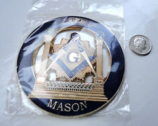 ZP32b All Seeing Eye Masonic Masons LARGE badge with G Geometry Freemason