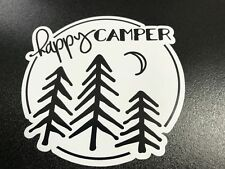 Happy Camper Trees - Sticker