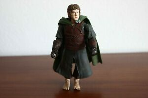 """Toy Biz LOTR Fellowship Of The Ring - Merry With Rohan Armor 2003 4.5"""""""