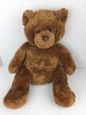 """Aeropostale Plush Brown Teddy Bear Super Soft Stuffed Animal Toy 16"""""""