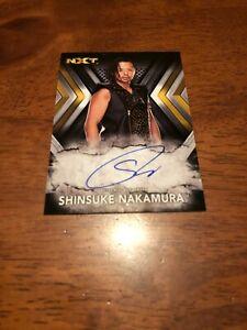 2017 Topps WWE NXT Shinsuke Nakamura Autograph