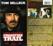 Crossfire Trail VHS Video Tape New Tom Selleck, Virginia Madsen, Simon Wincer