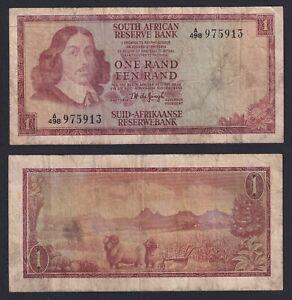 Sud Africa 1 rand 1966 (72) BB/VF  B-06