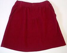 Childrens Place Magenta Corduroy Skirt-Adjustable Waistband-Girls-Sz 12  NWT