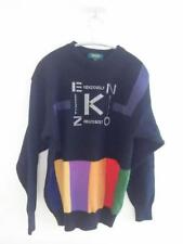 KENZO GOLF size L men knit sweater used vintage fashion graphic from Japan F/S