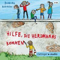 BARBARA ROBINSON - HILFE,DIE HERDMANNS KOMMEN (NEUAUSGABE)  2 CD NEU
