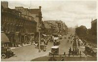 Scotland Edinburgh Princes Street from the West End (Valentines, no.90131) 1920s