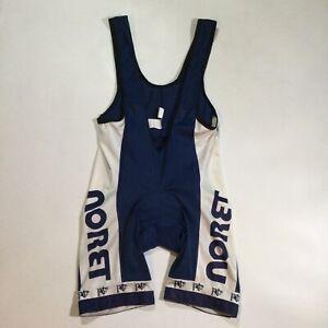 Noret Mens Size Medium 4 Tour de France Cycling Biking Bib Shorts In Blue