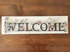 Wooden Rustic/Primitive Decorative Plaques & Signs