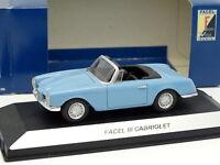 Starter N7 Provence Resina 1/43 - Facel III Cabriolet Azul