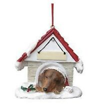 Dachshund Red Brown Christmas Ornament Retails For $10